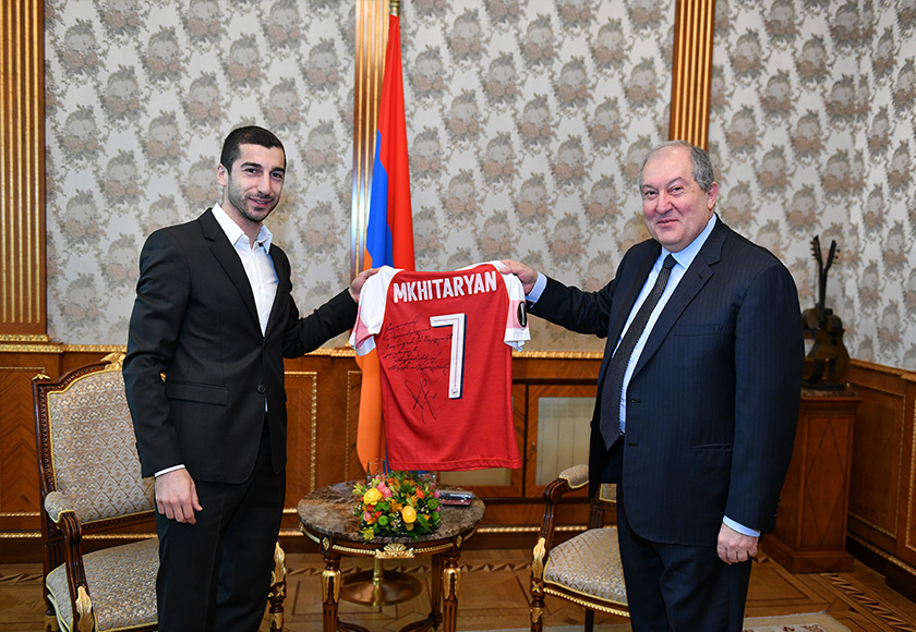 Mkhitaryan President
